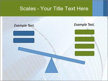 Glass Business Center PowerPoint Template - Slide 89