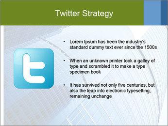 Glass Business Center PowerPoint Template - Slide 9