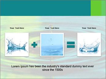 Drop Falling Into Water PowerPoint Template - Slide 22