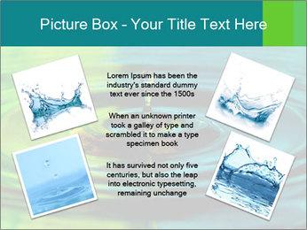 Drop Falling Into Water PowerPoint Template - Slide 24