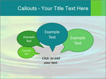 Drop Falling Into Water PowerPoint Template - Slide 73