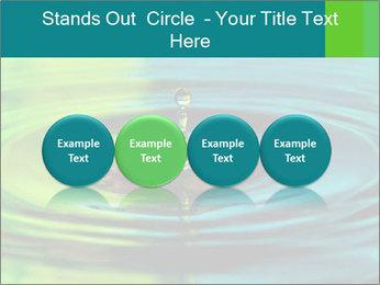 Drop Falling Into Water PowerPoint Template - Slide 76