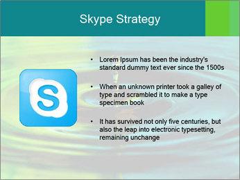 Drop Falling Into Water PowerPoint Template - Slide 8