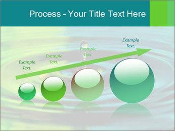 Drop Falling Into Water PowerPoint Template - Slide 87