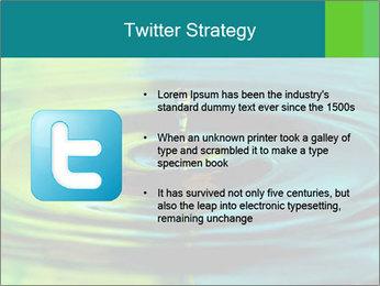 Drop Falling Into Water PowerPoint Template - Slide 9