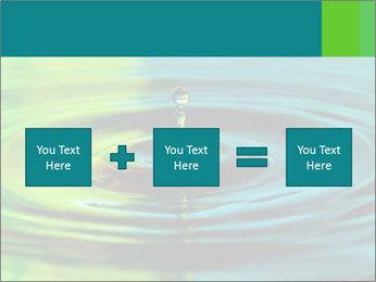 Drop Falling Into Water PowerPoint Template - Slide 95