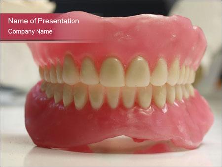 Teeth Model PowerPoint Template