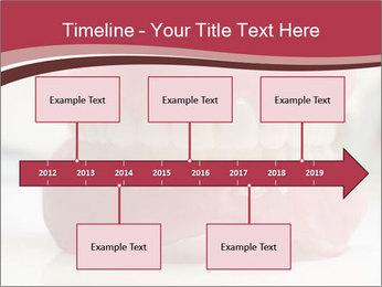Teeth Model PowerPoint Template - Slide 28