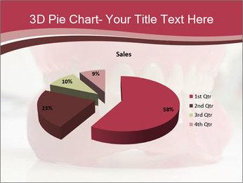 Teeth Model PowerPoint Template - Slide 35