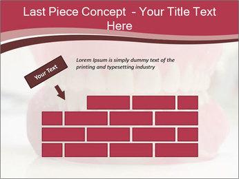 Teeth Model PowerPoint Template - Slide 46