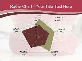 Teeth Model PowerPoint Template - Slide 51