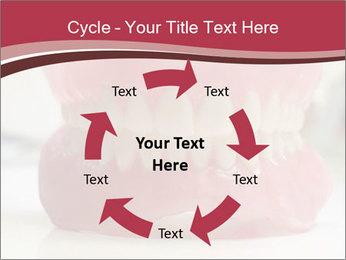 Teeth Model PowerPoint Template - Slide 62