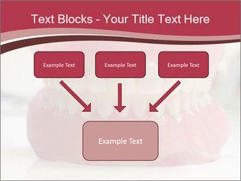 Teeth Model PowerPoint Template - Slide 70