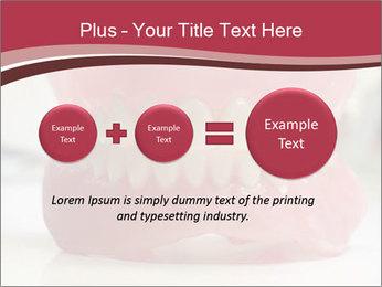 Teeth Model PowerPoint Template - Slide 75