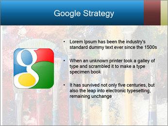 Artist's Brushes PowerPoint Template - Slide 10