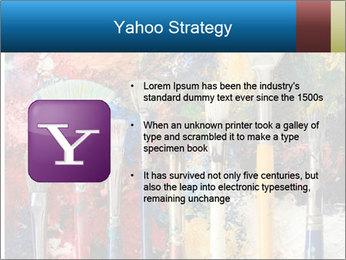 Artist's Brushes PowerPoint Template - Slide 11