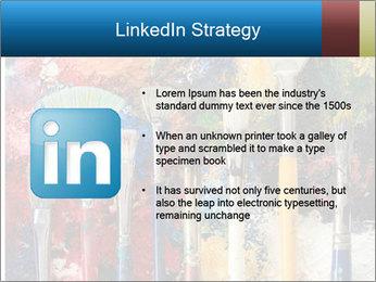 Artist's Brushes PowerPoint Template - Slide 12