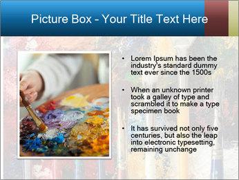 Artist's Brushes PowerPoint Template - Slide 13