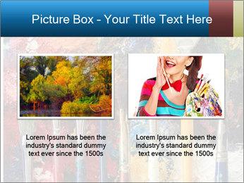 Artist's Brushes PowerPoint Template - Slide 18