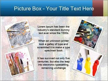 Artist's Brushes PowerPoint Template - Slide 24