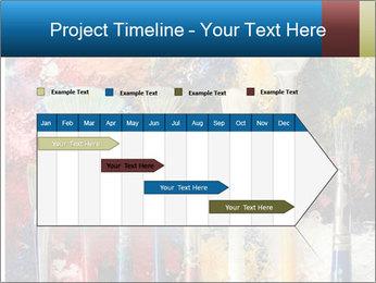 Artist's Brushes PowerPoint Template - Slide 25