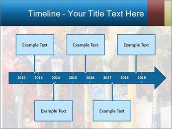 Artist's Brushes PowerPoint Template - Slide 28
