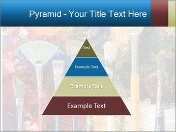 Artist's Brushes PowerPoint Template - Slide 30
