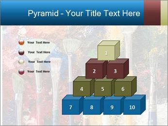 Artist's Brushes PowerPoint Template - Slide 31