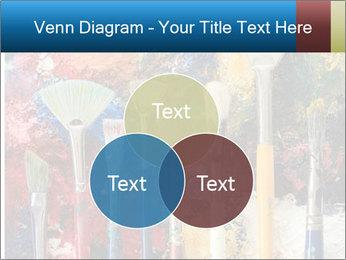 Artist's Brushes PowerPoint Template - Slide 33