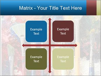 Artist's Brushes PowerPoint Template - Slide 37