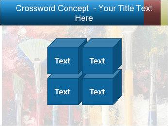 Artist's Brushes PowerPoint Template - Slide 39