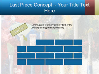 Artist's Brushes PowerPoint Template - Slide 46