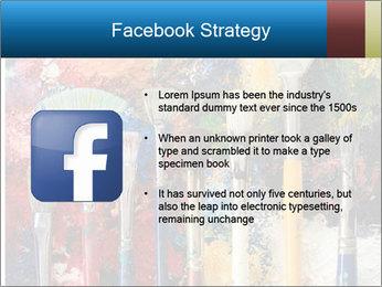 Artist's Brushes PowerPoint Template - Slide 6