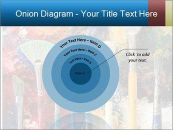 Artist's Brushes PowerPoint Template - Slide 61