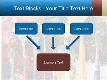 Artist's Brushes PowerPoint Template - Slide 70