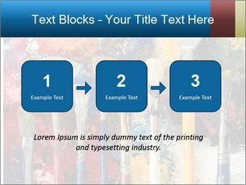 Artist's Brushes PowerPoint Template - Slide 71