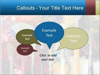 Artist's Brushes PowerPoint Template - Slide 73