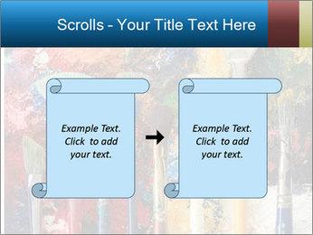 Artist's Brushes PowerPoint Template - Slide 74