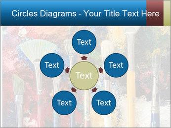Artist's Brushes PowerPoint Template - Slide 78