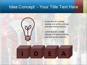 Artist's Brushes PowerPoint Template - Slide 80
