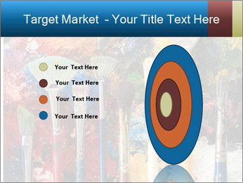 Artist's Brushes PowerPoint Template - Slide 84