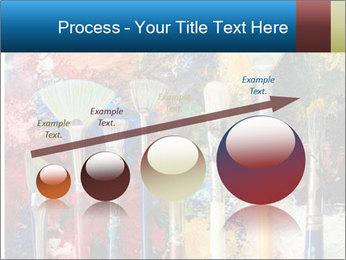 Artist's Brushes PowerPoint Template - Slide 87