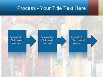 Artist's Brushes PowerPoint Template - Slide 88