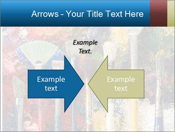 Artist's Brushes PowerPoint Template - Slide 90
