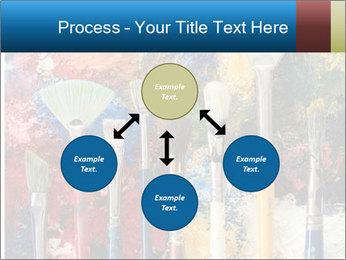 Artist's Brushes PowerPoint Template - Slide 91