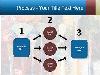 Artist's Brushes PowerPoint Template - Slide 92