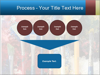 Artist's Brushes PowerPoint Template - Slide 93