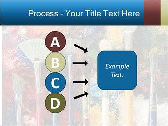 Artist's Brushes PowerPoint Template - Slide 94
