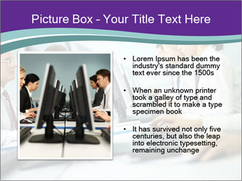 Busy Office Day PowerPoint Template - Slide 13