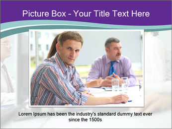 Busy Office Day PowerPoint Template - Slide 15